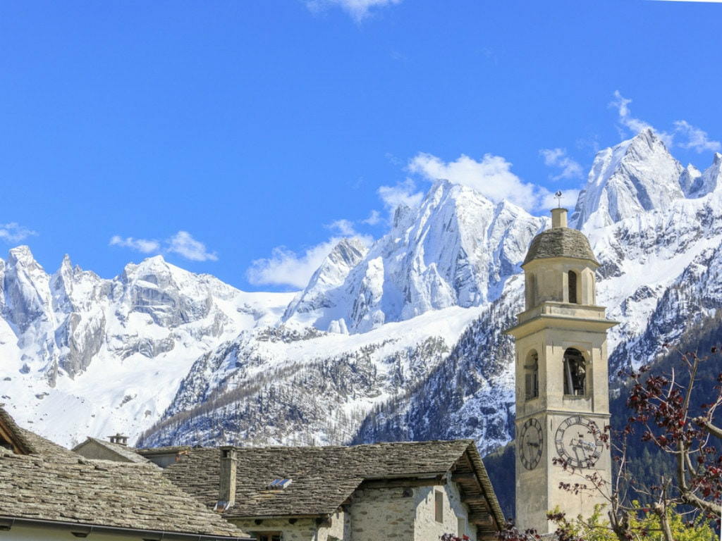 Churches of Bregaglia