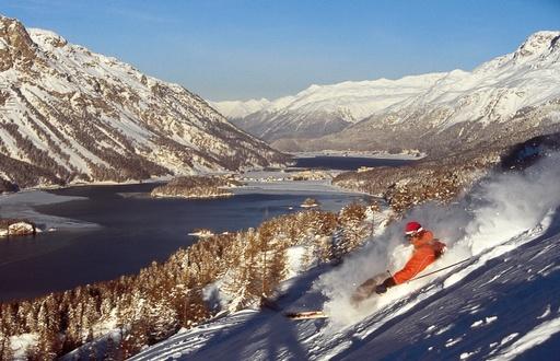 Skigebiet Aela Maloja