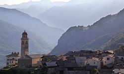 Ortschaften im Bergell