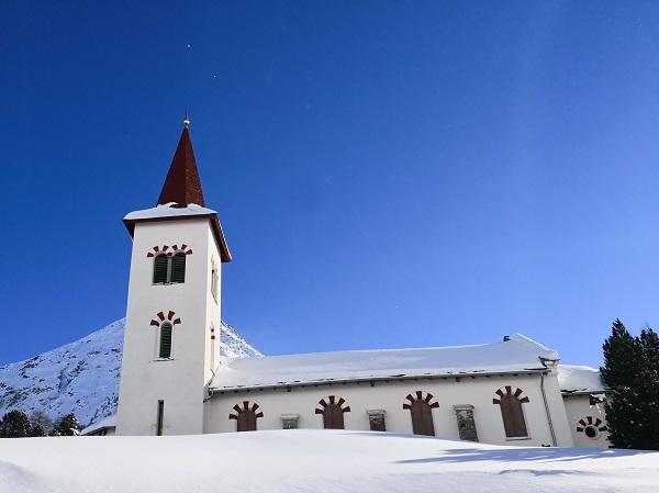 Inverno a Maloja